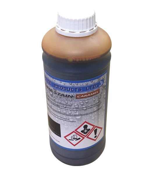 Acid Tone Stain - Caramel (1L) For Pattern Imprinted Concrete