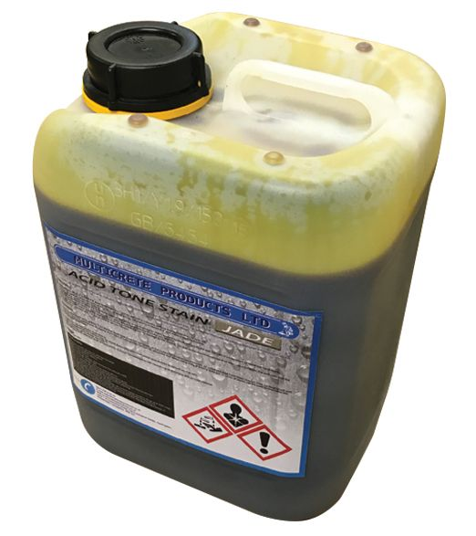 Acid Tone Stain - Jade (5L) For Pattern Imprinted Concrete