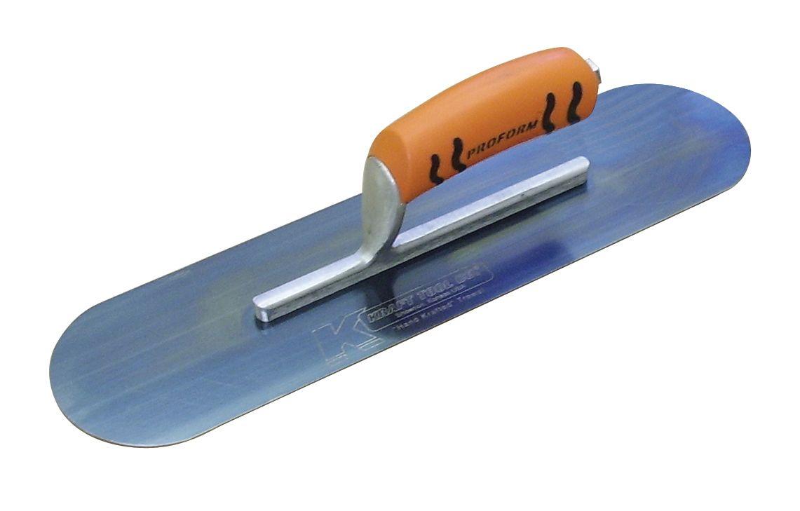 Blue Steel Pool Trowel 16 X 4 407mm X 102mm Short Shank