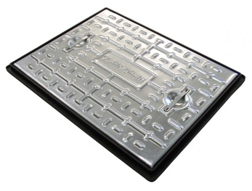 Clark Drain Manhole Cover Access Inspection 600 x 450mm - 5 Tonne PC6BG