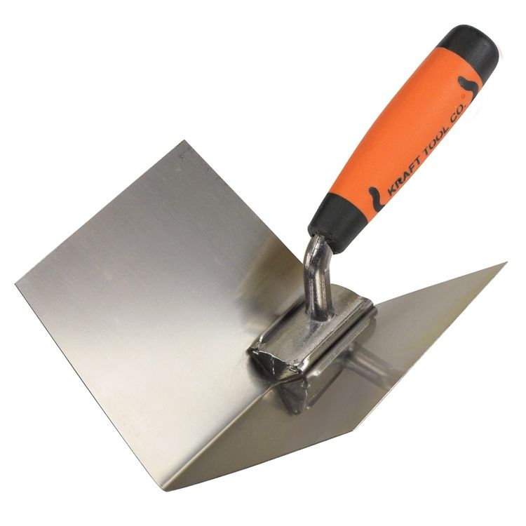 2 x Corner Trowel Set Internal External 120mm Plasterers Tools