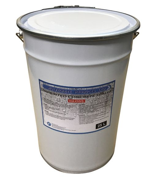 Pattern Imprinted Concrete Sealer - Gloss (25Ltr)