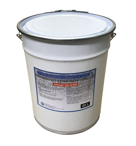 Pattern Imprinted Concrete Sealer - High Solid Gloss (20Ltr)