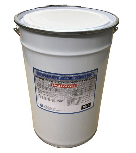 Pattern Imprinted Concrete Sealer - High Solid Gloss (25Ltr)