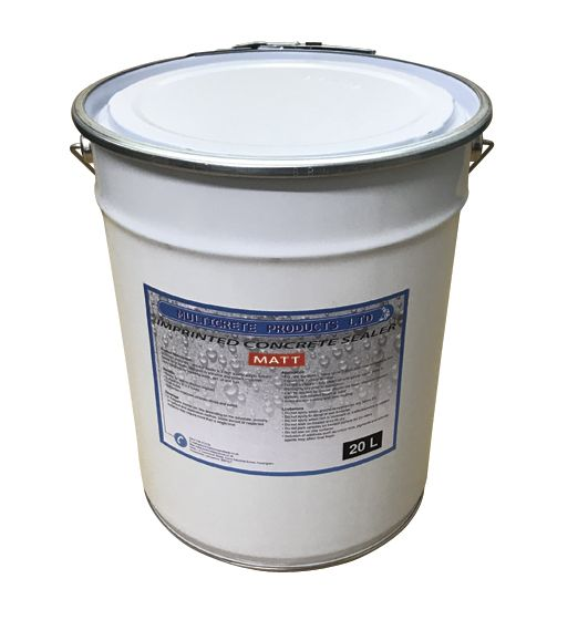 Pattern Imprinted Concrete Sealer - Matt Finish (20Ltr)
