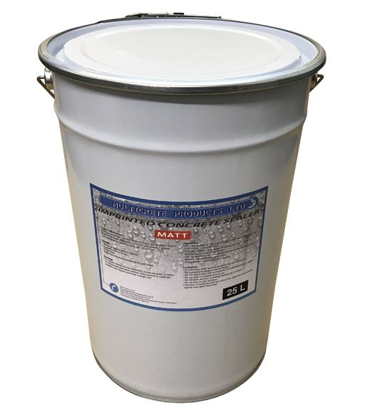 Pattern Imprinted Concrete Sealer - Matt Finish (25Ltr)