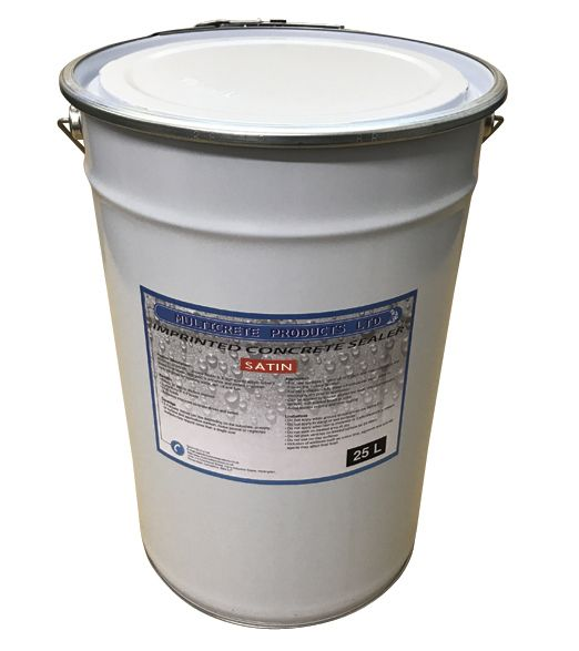 Pattern Imprinted Concrete Sealer - Satin (25Ltr)