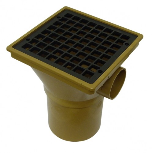 Underground Drainage Square Gully Hopper - 110mm
