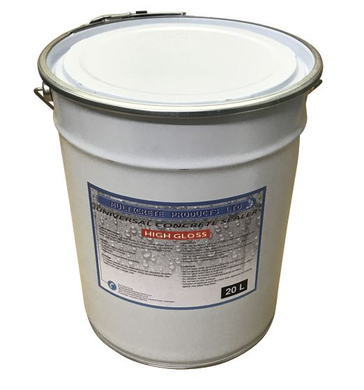 Universal Concrete Sealer - High Solid Gloss (20Ltr)