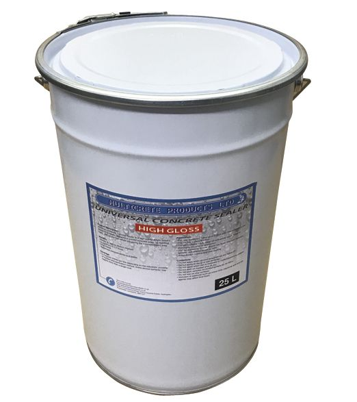 Universal Concrete Sealer - High Solid Gloss (25Ltr)