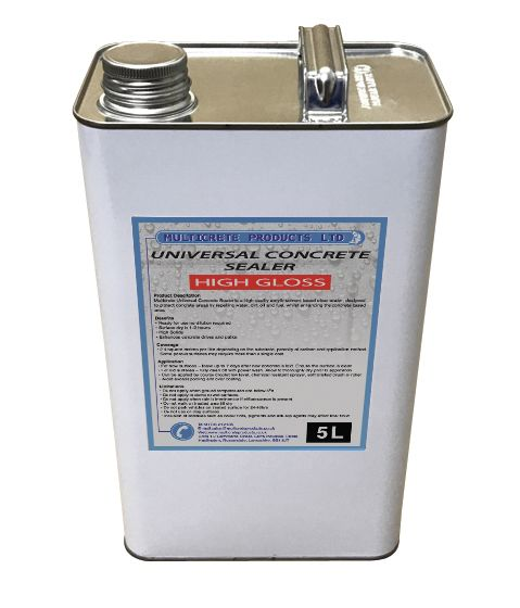 Universal Concrete Sealer - High Solid Gloss (5Ltr)