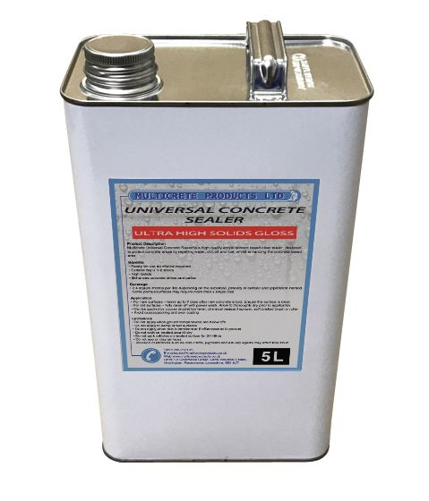 Universal Concrete Sealer - Ultra High Solid Gloss (5Ltr)